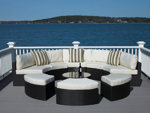 Circular Outdoor Sectional/Daybed
