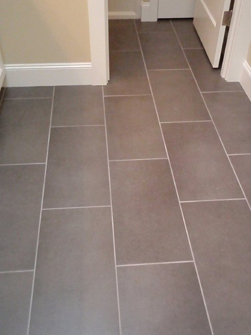 How Far Apart Did You Space Your 12 X 24 Tiles