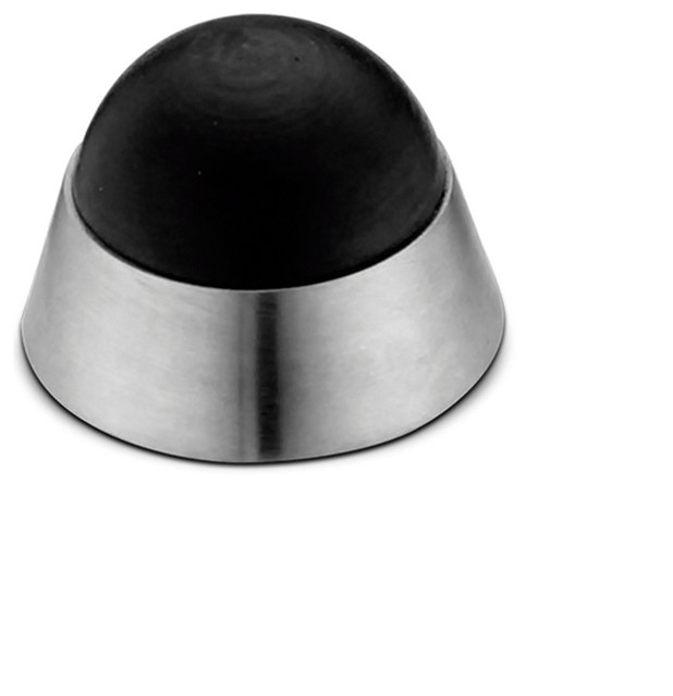 304 Stainless Steel Convex Dome Wall Mounted Door Stop
