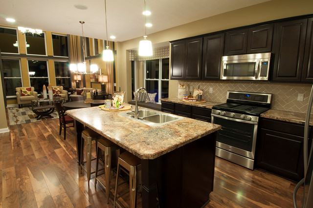 MI Homes Of Columbus Waterford Park Parkside Model