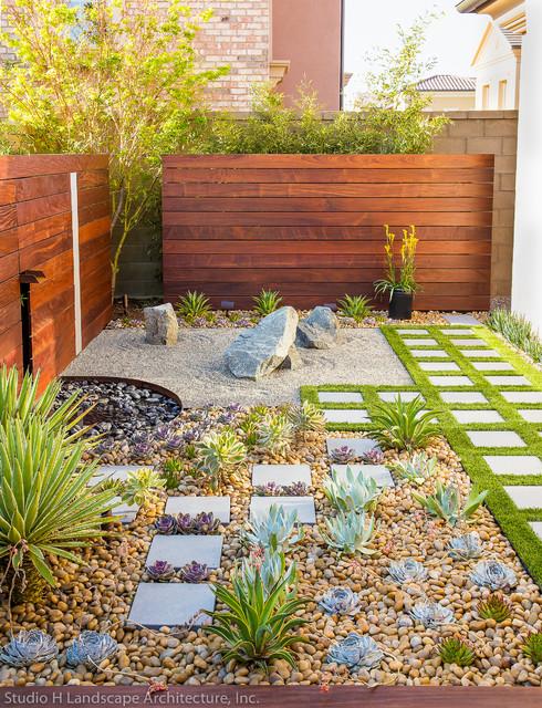 Modern Zen Garden Small Space Design - Contemporary ... on Zen Garden Backyard Ideas id=80663