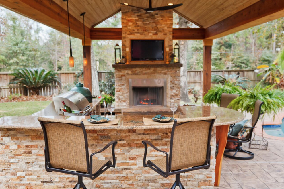 Gallery - Transitional - Patio - Houston - by Warren's ... on Warrens Outdoor Living id=14148