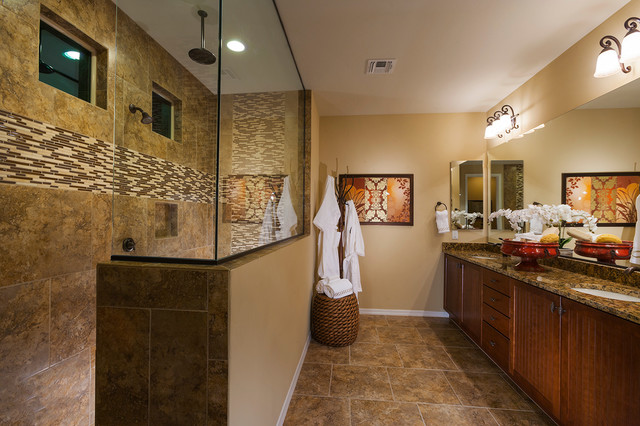 "Pulte Homes-""Liberty"" Model Home-Vail, Arizona ... on Model Bathroom Ideas  id=21505"