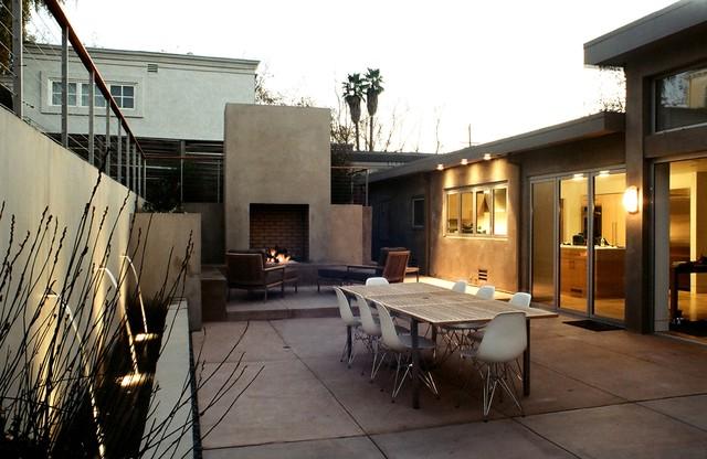 Mid-Century Modern Piedmont Residence - Modern - Patio ... on Mid Century Patio Design  id=30420