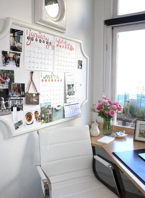 Small Feminine Home Office
