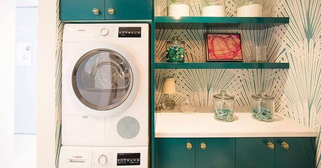 Modern European Laundry Room modern-laundry-room