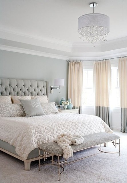 Modern and chic European style bedroom - Traditional ...