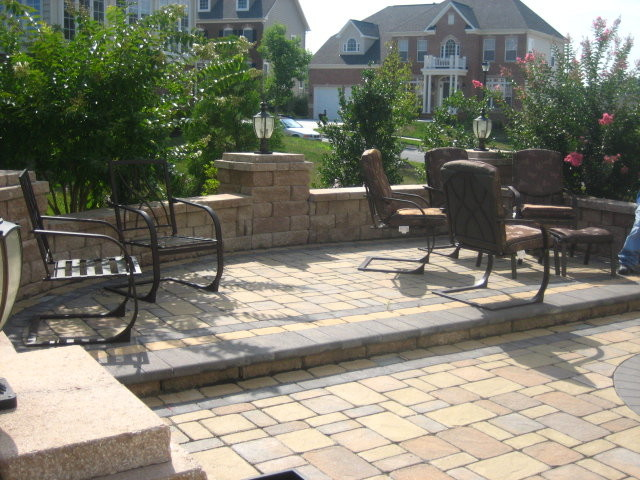 Backyard Hardscape - Traditional - Patio - Baltimore - by ... on Backyard Hardscape Design id=23604