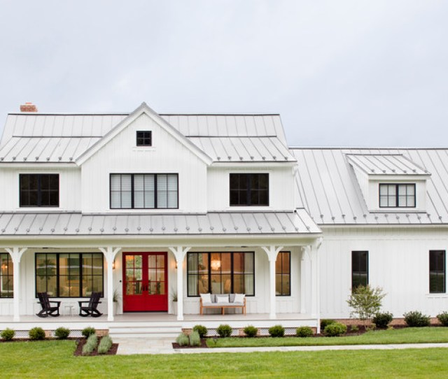 Modern Farmhouse Farmhouse Exterior