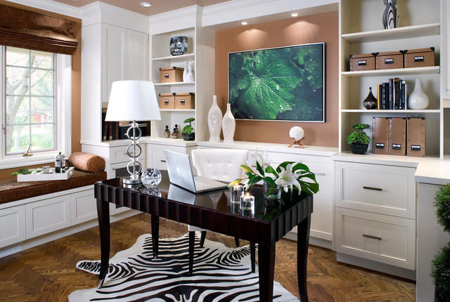 Richmond Hill home contemporary-home-office
