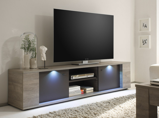 Modern TV Stand Sidney 75 By LC Mobili 73900 Modern
