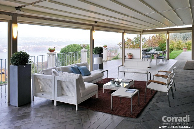 Pergotenda- Patio awnings with retractable roofs by ... on Corradi Outdoor Living id=18547