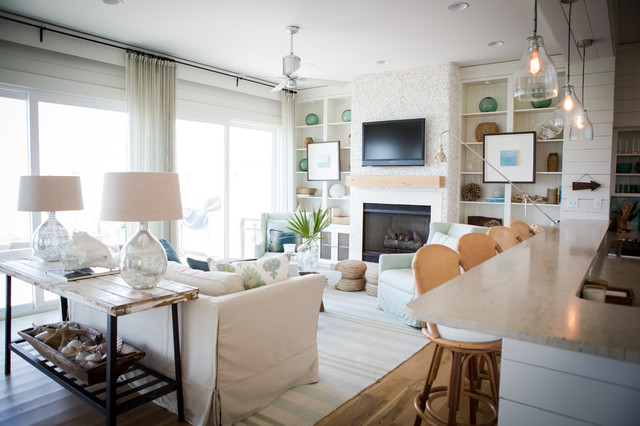 Alys Beach Beach Style Living Room Other By Ashley