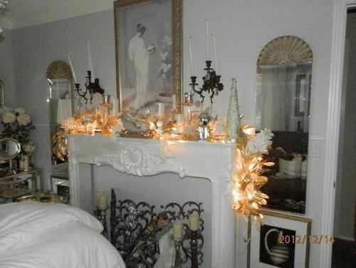 Shabby Chic Christmas Bedroom