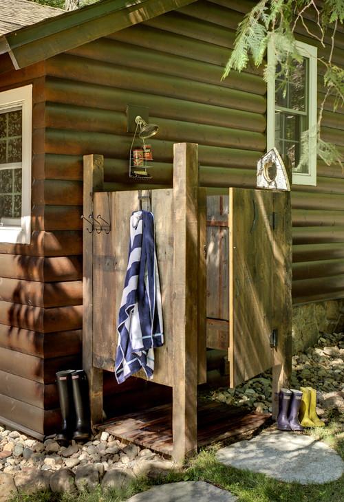 outdoor shower ideas tips