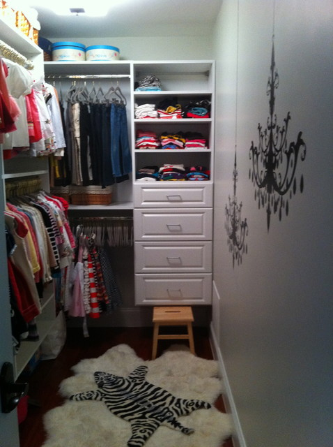 Daughters Walk In Closet Eclectic Closet Boston