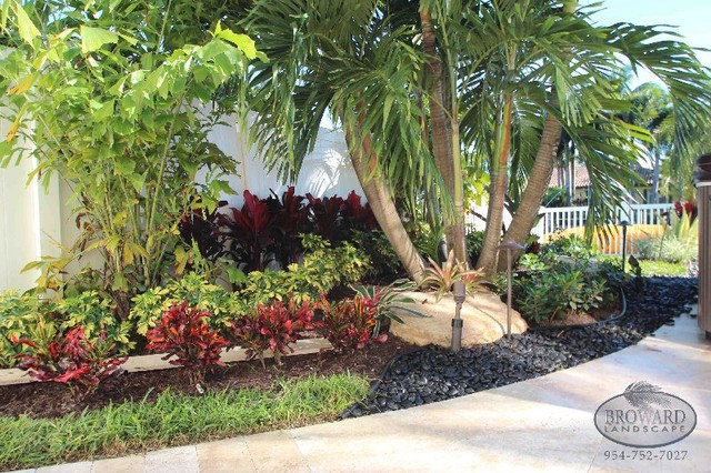 Front Yard Landscape - Tropical - Landscape - Miami - by ... on Tropical Backyard Landscaping  id=13218