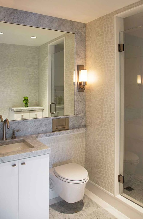 8 Bathroom Designs That Save Space on Small Area Bathroom Ideas  id=86425