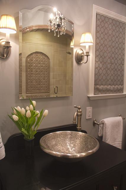 Moroccan Inspired Bath