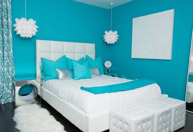Modern Teen Girls Bedroom Modern Bedroom New York