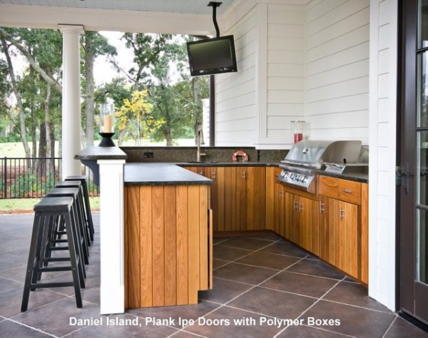 tropical patio outdoor kitchens Outdoor Kitchens - Tropical - Patio - Charleston - by
