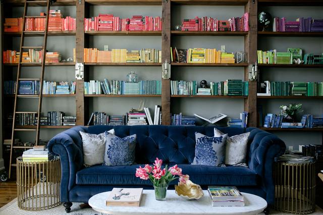 Green Hills contemporary-living-room