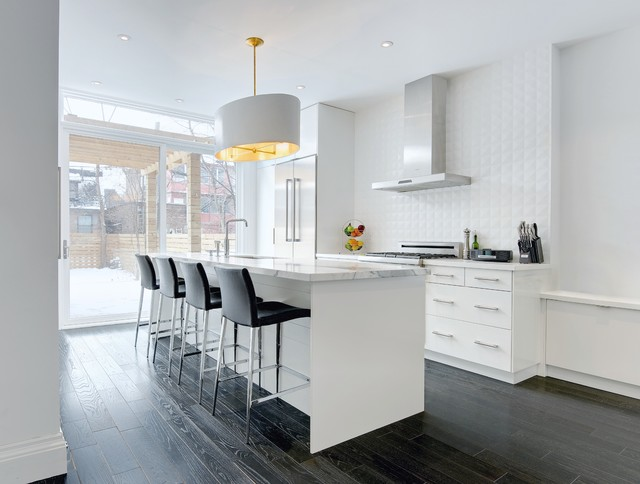 My Houzz Modern Annex Renovation Contemporary Kitchen