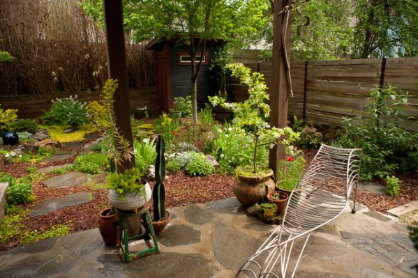 japanese inspired gardens Contemporary eclectic Japanese inspired garden - Asian