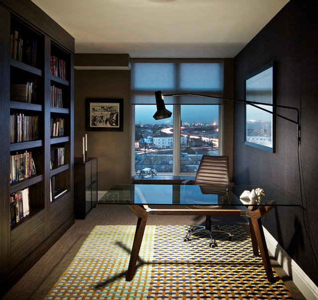 LOHI CONDO Contemporary Home Office Denver By