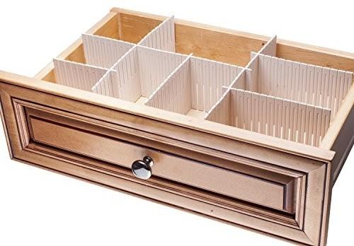 interlocking drawer organizers, set of 3 - contemporary - kitchen