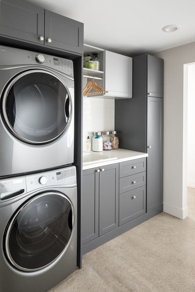 designs featuring inspired closets transitional on paint for laundry room floor ideas images id=58587
