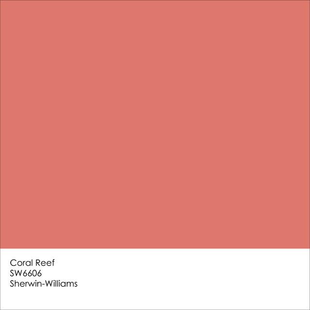 Color of the Year 2015: Coral Reef
