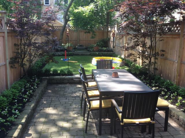 SynLawn grass in shady backyard on Shady Yard Ideas id=47299