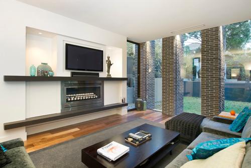 Soggiorno in stile Contemporaneo di Amoroso Design , Interior Designer ...