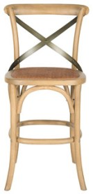Safavieh Eleanor Counterstool, Weathered Oak