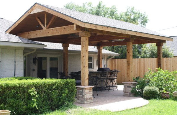 cover idea patio design Patio Covers by Increte of Houston - Rustic - Patio