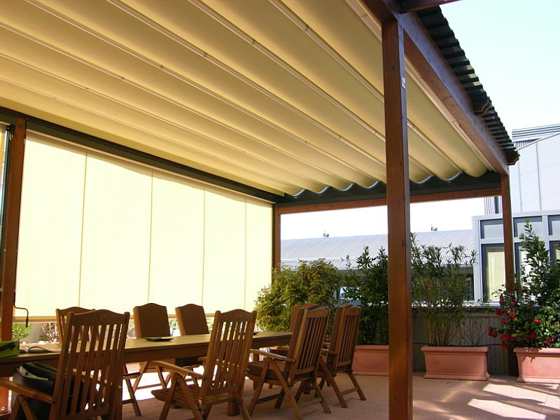 Pergotenda- Patio awnings with retractable roofs by ... on Corradi Outdoor Living id=49704