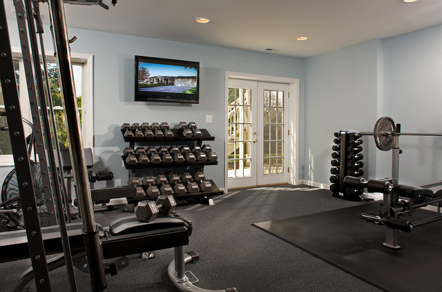 Interior Spaces Traditional Home Gym Baltimore By
