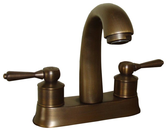 https www houzz com products classic antique brass centerset sink faucet with 2 lever prvw vr 15105691