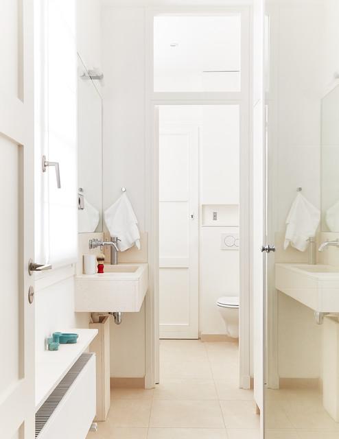 volumes d une petite salle de bains