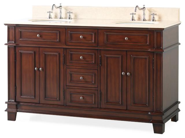 60 sanford double sink large bathroom vanity