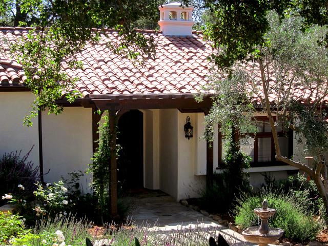 Small Spanish Cottage In Montecito CA Mediterranean