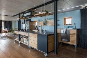 Bewegende Küche   Industrial   Küche   Berlin   von Frau Caze