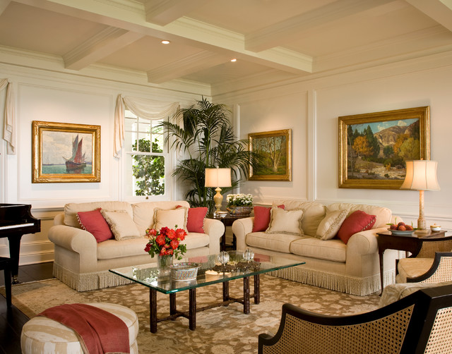 Superior Santa Barbara Dutch Colonial Beach Style Living Room Los Part 22