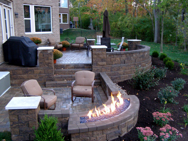 Outdoor Raised Patios and Landings - Landscape - Other ... on Raised Concrete Patio Ideas id=48047