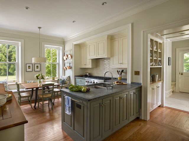 haverford renovation traditional-kitchen