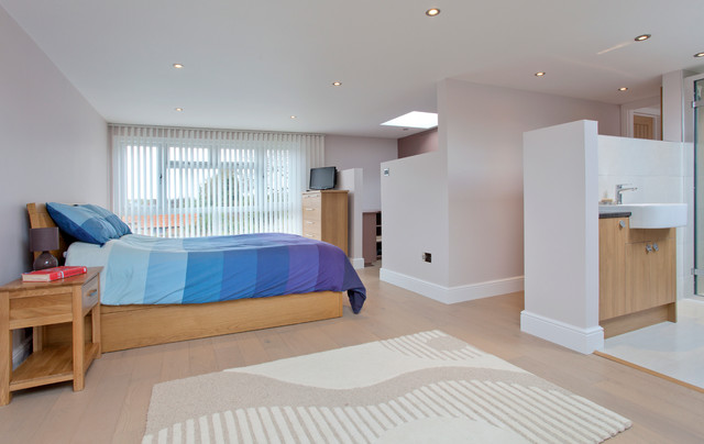 Surrey Rear Dormer Loft Conversion 2 Bedrooms Bathrooms Dressing Room Contemporary