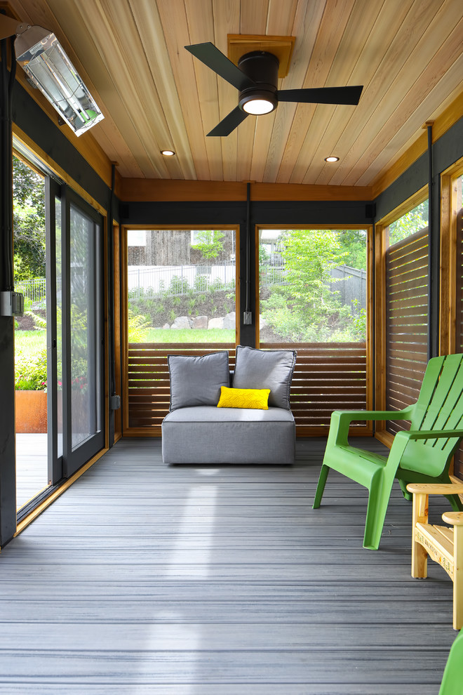 Project 3419-1 Outdoor Living Space Screen Porch Deck ... on Outdoor Living Space Builders Near Me  id=34613