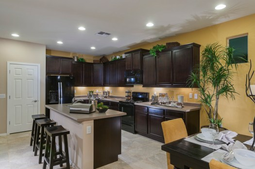 Pulte Homes Bliss Model Home Vail Arizona Traditional Kitchen