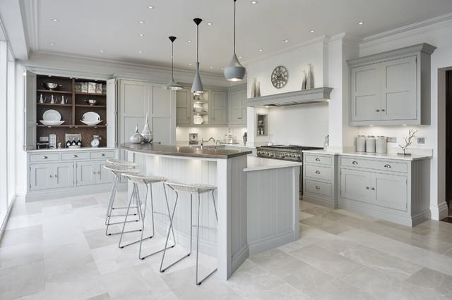 Grey Family Kitchen traditional-kitchen